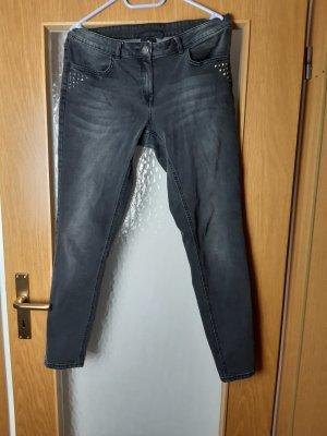 Anastacia Straight Leg Jeans dark grey