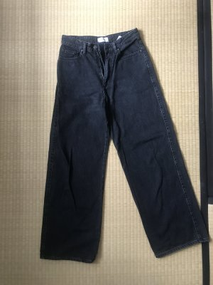 Armedangels Hoge taille jeans zwart