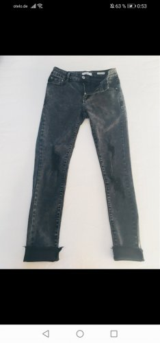 my Hailys Jeans a 7/8 grigio scuro