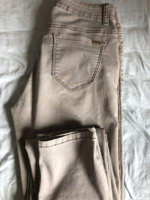 Miss Bonbon Jeans stretch gris clair
