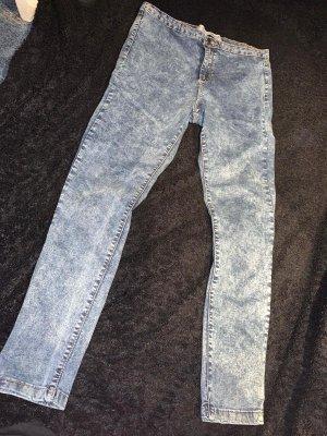 Primark Jeans stretch blanc-gris ardoise