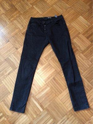 Please Workowate jeansy ciemnoszary