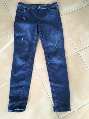 Massimo Dutti 7/8 Length Trousers blue