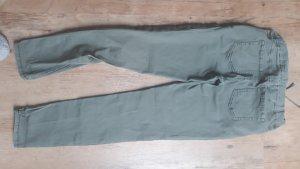 Pantalón abombado caqui