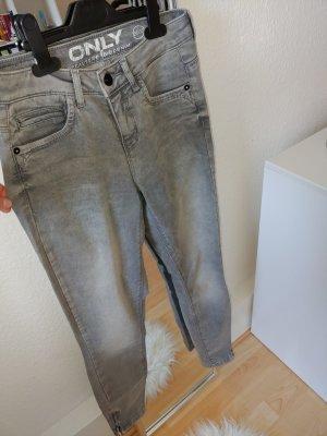 Only Jeans slim fit grigio chiaro