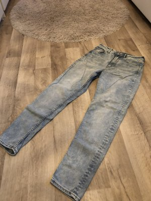 Hennes Collection by H&M Hoge taille jeans azuur-leigrijs