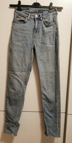 Weekday Jeans a vita alta multicolore