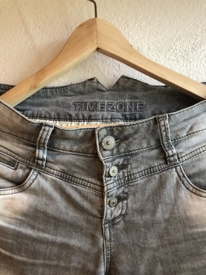 Timezone Stretch Jeans light grey-grey