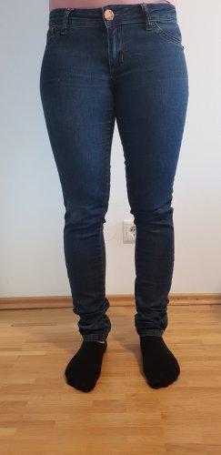 Tally Weijl Jeans a sigaretta blu scuro Cotone