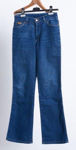 Wrangler Boot Cut Jeans dark blue