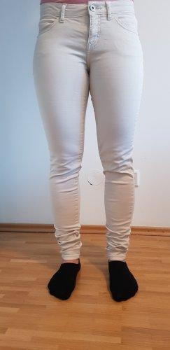 Clockhouse Jeans a sigaretta beige chiaro Cotone