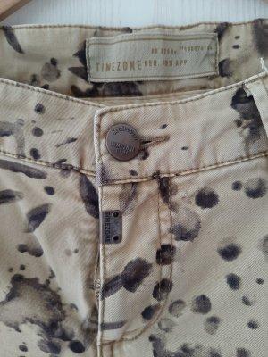 Timezone Pantalon en jersey brun sable