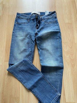 Abercrombie & Fitch Jeans stretch bleu