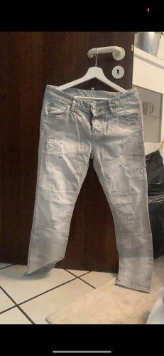 Dsquared2 Jeans skinny grigio