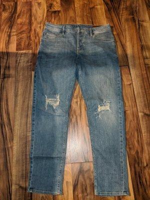Asos Tube jeans blauw