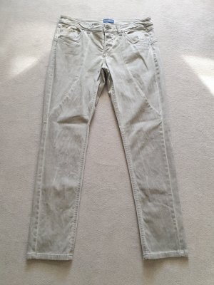 Charles Vögele Stretch Jeans grey brown