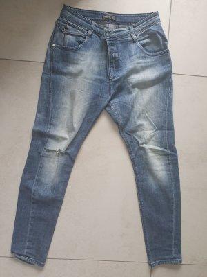 Only Boyfriend jeans blauw