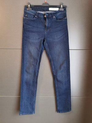 Esmara Jeansy z prostymi nogawkami niebieski-ciemnoniebieski