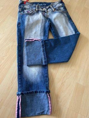 Crazy Age 3/4 Length Jeans blue