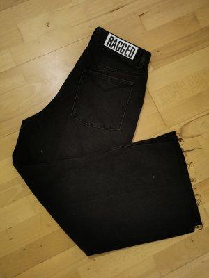 The Ragged Priest Jeans a gamba dritta nero-talpa