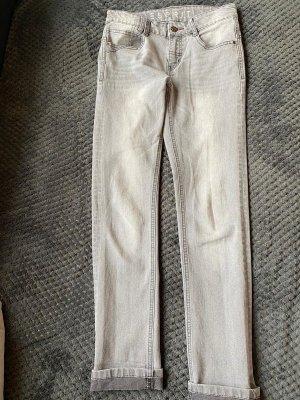Esprit Jeans a vita alta grigio