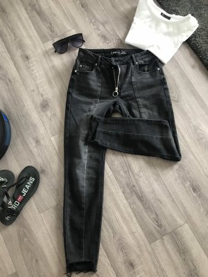 FB Sister Pantalone peg-top nero