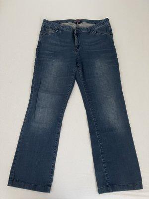 Us Polo ASSN Jeansowe spodnie dzwony ciemnoniebieski