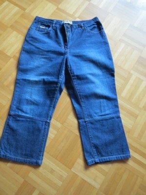 Jeans, 7/8 Jeans, Gr.44/L, blau