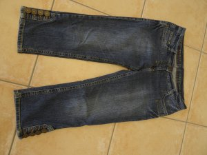 Art To Be 7/8 Length Jeans slate-gray cotton