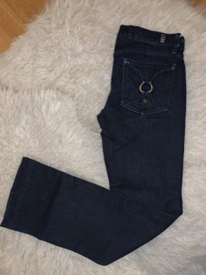 7 For All Mankind Boot Cut Jeans dark blue