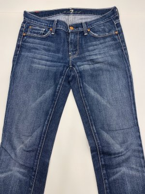7 For All Mankind Jeans a gamba dritta blu