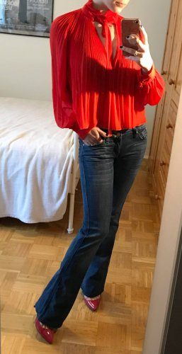 Jeans 7 for all Mankind Gr. 26 (XS) Bootcut Damen Hose NP 220€ Seven blau W26