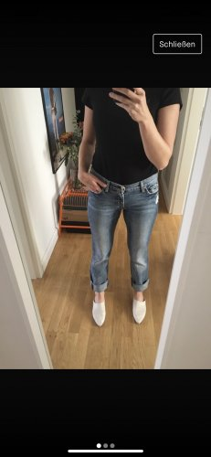 7 For All Mankind Boyfriend jeans blauw