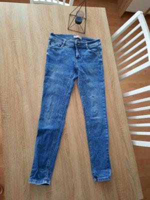 C&A Jeans skinny bleu coton