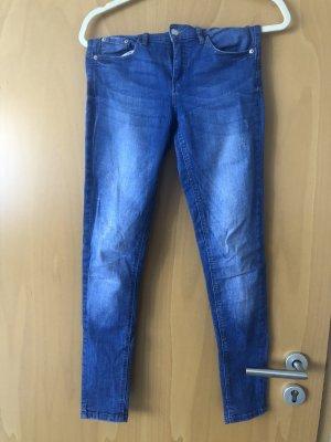 Tally Weijl Jeans slim bleu fluo