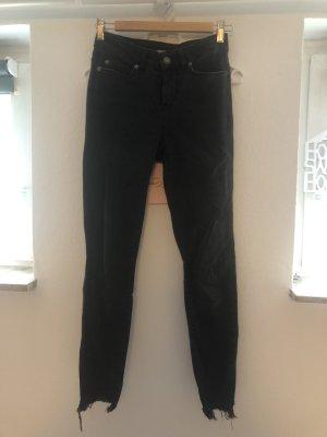 Vero Moda Hoge taille jeans grijs