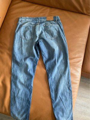 H&M L.O.G.G. Baggy Jeans steel blue