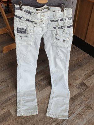 Cipo & Baxx Stretch Jeans white