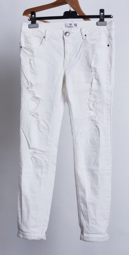 AJC Jeans slim fit bianco