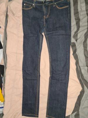 Sonstige Strapped Trousers dark blue