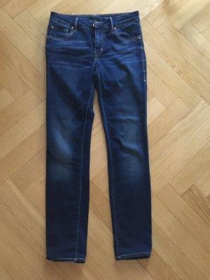 1921 Jeans a sigaretta blu scuro