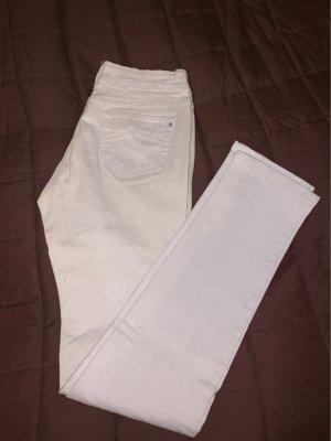 Drainpipe Trousers white