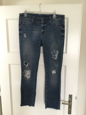 7 For All Mankind Jeans stretch bleu