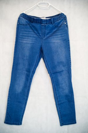 Woman by Tchibo Hoge taille jeans blauw-staalblauw