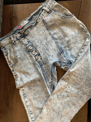 Blue Rags Low Rise jeans azuur