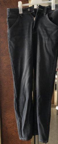 Sheinside Jeans a gamba dritta multicolore