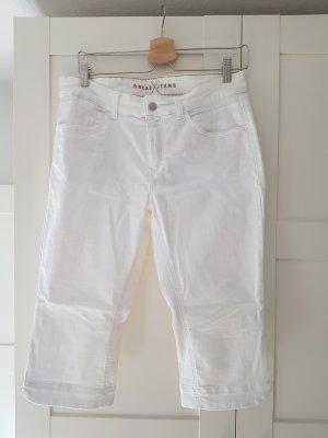 MAC Dream Jeans 3/4 Length Jeans white