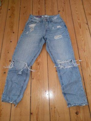 FB Sister Jeans boyfriend bleu clair