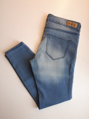 Review Jeans skinny bleu azur