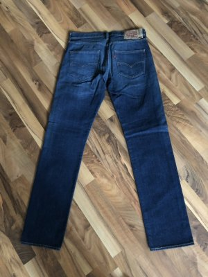 Levi's Hoge taille jeans blauw